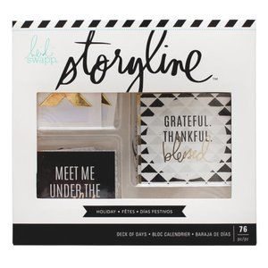 Heidi Swapp Storyline Collection Deck of Days